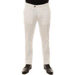 Vêtements Homme Chinos / Carrots Canali 93630-PT00943003 Bianco