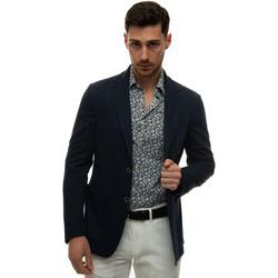Vêtements Homme Vestes / Blazers Canali J0147-JJ01974302 Blu