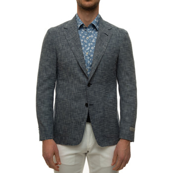 Vêtements Homme Vestes / Blazers Canali L21288-CF03392304 Blu-bianco