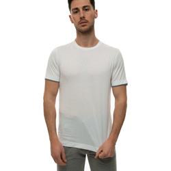 Vêtements Homme T-shirts manches courtes Canali T0691-MJ01037001 Bianco