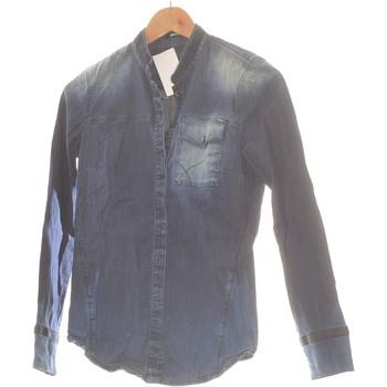 Vêtements Femme Chemises / Chemisiers Gas Chemise  34 - T0 - Xs Bleu