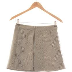 Vêtements Femme Jupes Zara Jupe Courte  34 - T0 - Xs Gris