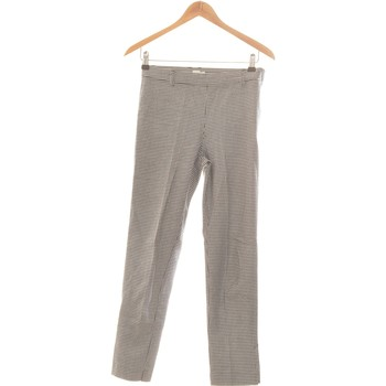 Vêtements Femme Chinos / Carrots Zara Pantalon Droit Femme  34 - T0 - Xs Noir