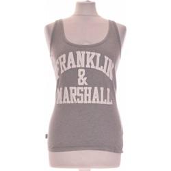 Vêtements Femme Débardeurs / T-shirts sans manche Franklin & Marshall Débardeur  36 - T1 - S Gris