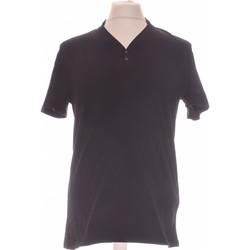 Vêtements Femme T-shirts manches courtes Celio Top Manches Courtes  40 - T3 - L Noir