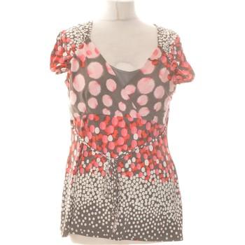 Vêtements Femme Tops / Blouses Jacqueline Riu Top Manches Courtes  40 - T3 - L Rouge