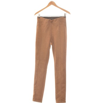 Vêtements Femme Chinos / Carrots Lola Pantalon Droit Femme  36 - T1 - S Marron