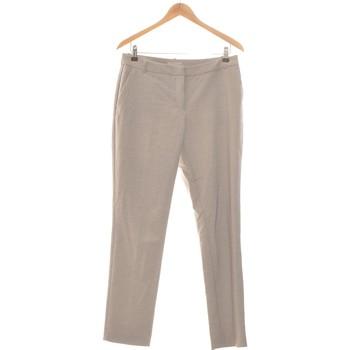 Vêtements Femme Chinos / Carrots H&M Pantalon Droit Femme  38 - T2 - M Gris