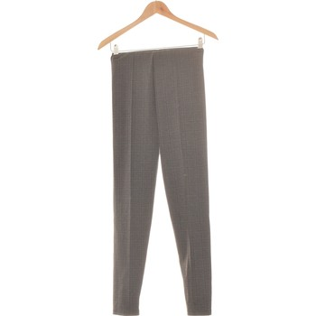 Vêtements Femme Chinos / Carrots Zara Pantalon Slim Femme  36 - T1 - S Gris