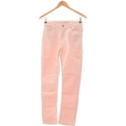 Vêtements Femme Jeans droit Etam Jean Droit Femme  36 - T1 - S Rose