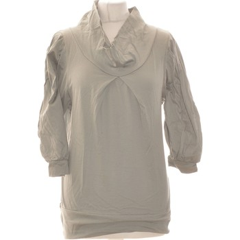 Vêtements Femme Tops / Blouses Naf Naf Top Manches Longues  36 - T1 - S Vert