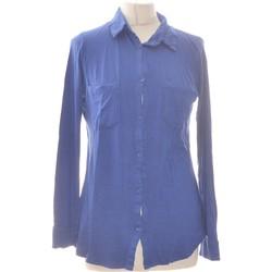 Vêtements Femme Chemises / Chemisiers La Redoute Chemise  38 - T2 - M Bleu