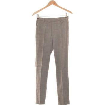 Vêtements Femme Chinos / Carrots Uniqlo Pantalon Slim Femme  34 - T0 - Xs Gris