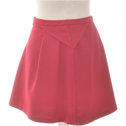 Vêtements Femme Jupes Promod Jupe Courte  36 - T1 - S Rose