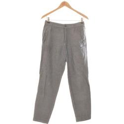 Vêtements Femme Chinos / Carrots A.p.c. Pantalon Droit Femme A.p.c. 36 - T1 - S Bleu