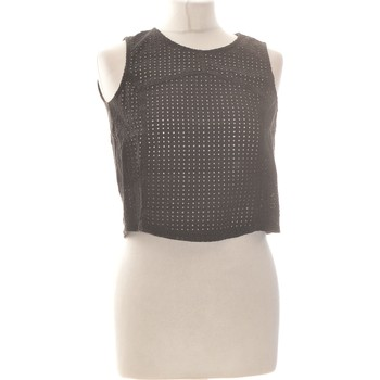 Vêtements Femme Débardeurs / T-shirts sans manche Mango Débardeur  36 - T1 - S Noir