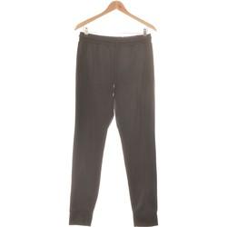Vêtements Femme Pantalons fluides / Sarouels Monki Pantalon Slim Femme  36 - T1 - S Noir