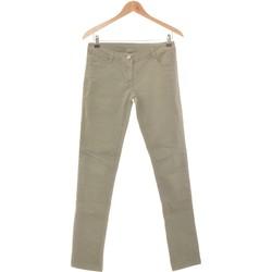 Vêtements Femme Pantalons 5 poches Pimkie Pantalon Droit Femme  36 - T1 - S Vert