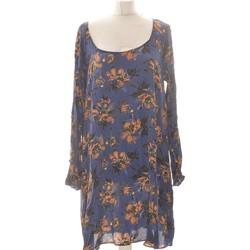 Vêtements Femme Robes courtes Zara Robe Courte  38 - T2 - M Bleu