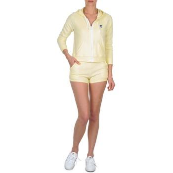 Vêtements Femme Shorts / Bermudas Petit Bateau TOUPET Jaune