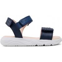 Chaussures Fille Sandales et Nu-pieds Geox SANDALES  S.DEAPHNE J15DUJ MARINE