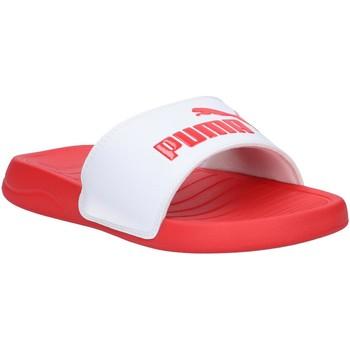 Chaussures Claquettes Puma 372279 POPCAT 20 Rojo