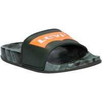 Chaussures Enfant Claquettes Levi's VPOL0070S POOL Verde