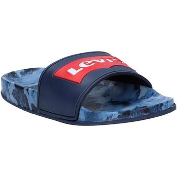 Chaussures Enfant Claquettes Levi's VPOL0070S POOL Azul