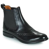 Chaussures Femme Boots Melvin & Hamilton AMELIE 5 Noir