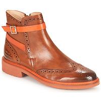 Chaussures Femme Boots Melvin & Hamilton SELINA 25 Marron