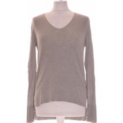 Vêtements Femme Tops / Blouses Zara Top Manches Longues  34 - T0 - Xs Gris