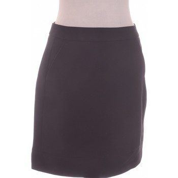 Vêtements Femme Jupes Camaieu Jupe Courte  40 - T3 - L Noir