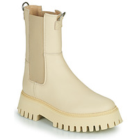 Chaussures Femme Boots Bronx GROOV Y Beige