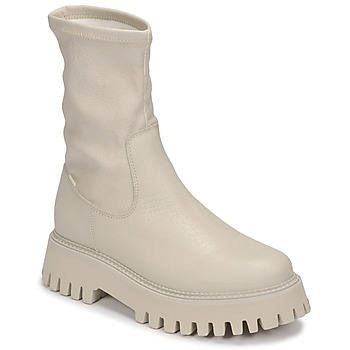 Chaussures Femme Boots Bronx GROOV Y Blanc