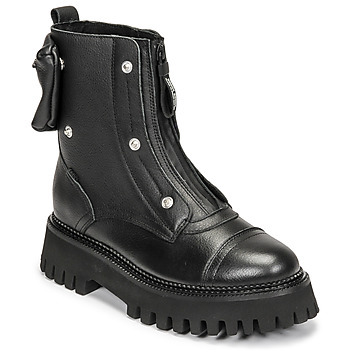 Chaussures Femme Boots Bronx GROOV Y Noir
