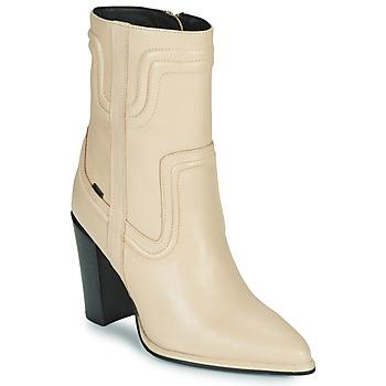 Chaussures Femme Bottes ville Bronx NEXT AMERICANA Beige