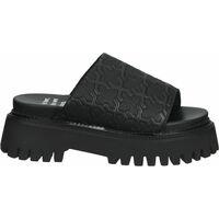 Chaussures Femme Sandales et Nu-pieds Bronx Mules Schwarz