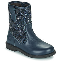 Chaussures Fille Boots Citrouille et Compagnie JUCKER Bleu