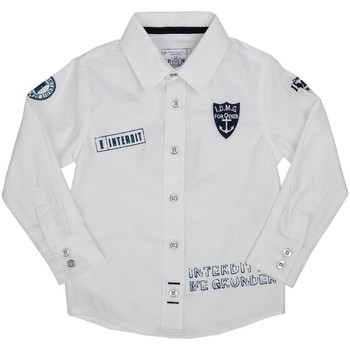 Vêtements Enfant Chemises manches courtes Interdit De Me Gronder AXYTA Blanc