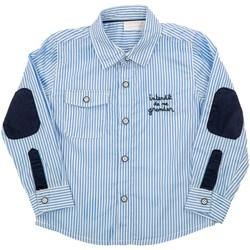 Vêtements Enfant Chemises manches courtes Interdit De Me Gronder SALINA Bleu ciel