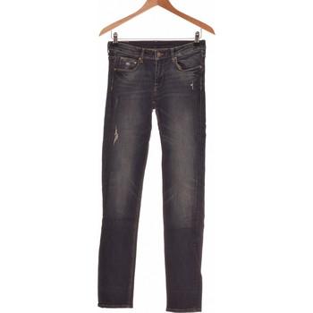 Vêtements Femme Jeans droit H&M Jean Droit Femme  36 - T1 - S Bleu