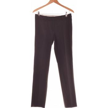 Vêtements Femme Chinos / Carrots Laura Clément Pantalon Droit Femme  38 - T2 - M Bleu