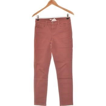 Vêtements Femme Jeans slim Camaieu Jean Slim Femme  36 - T1 - S Rose