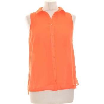 Vêtements Femme Chemises / Chemisiers Pimkie Chemise  36 - T1 - S Orange