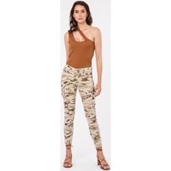 Vêtements Femme Pantalons cargo Toxik3 Pantalon camouflage cargo - Kam Beige
