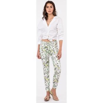 Vêtements Femme Livraison gratuite et Retour offert Toxik3 Pantalon imprimé - Arty Vert