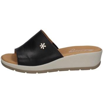 Chaussures Femme Mules Florance 39324-1 NOIR