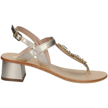 Chaussures Femme Sandales et Nu-pieds Keys K-5170 Argenté