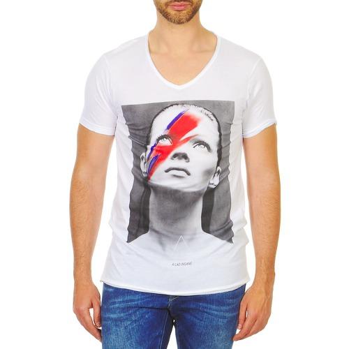 Vêtements Homme T-shirts manches courtes Eleven Paris KATOS Blanc