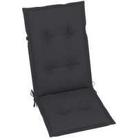 Maison & Déco Galettes de chaise VidaXL Coussin de chaise de jardin 120 x 50 x 7 cm Anthracite